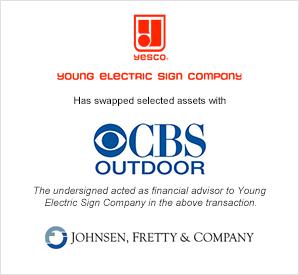 Yesco -CBS swap